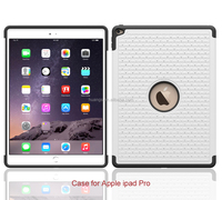 Low price china mobile phone hot spot drill diamond tpu silicon pc case for ipad pro cover made in china