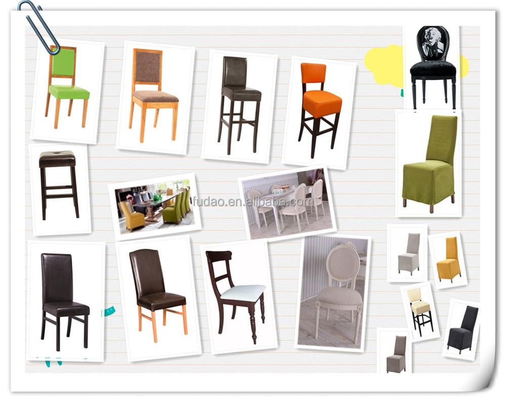 Meilleure qualité antique en bois blanc chaises de salle à manger