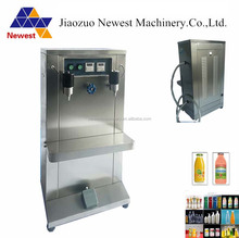 Semi-automatic beer keg filler filling machine/olive oil filling machine/small portable liquid filling machine