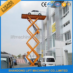 Hydraulic auto motorcycle lift