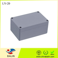 LV-20 waterproof aluminum enclosure box ip65