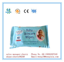 OEM welcomed various fragrance soft baby care wet tissue
