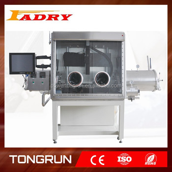 Inert Atmosphere GloveBox for laser welding