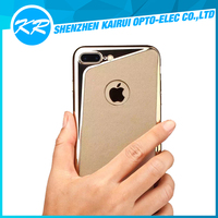 New product!!! slim PC + skin PU leather cell phone shell for iPhone7/iPhone7 plus,PC cell phone case