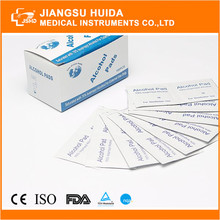 Hot sale HDA Disposable medical sterile alcohol prep pads