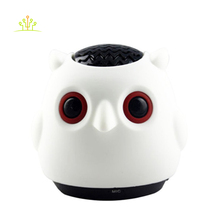 2016 new mini owl shape animal like cute bluetooth speaker with TF card FM radio