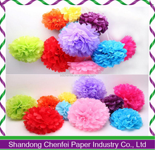 2016 Cheap Wedding Tissue Paper Pom Poms for Engagement Party