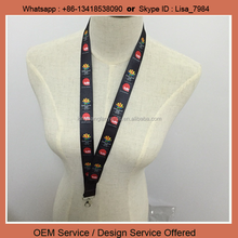 China wholesale promotional custom printed sublimated lanyard china shenzhen