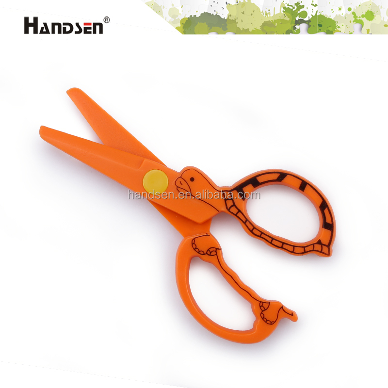 "4-3/4"" funny and new plastic animal scissors"