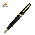 Hot selling china Heavy Vip business promotional famous impression brand black boss gift ballpoint pen