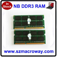 HongkONG Price 1 piece ram kit Sodimm Ddr3 4gb 1066