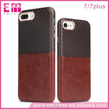 Top Selling Custom Credit Card Splicing Leather Mobile Phone Cover for iPhone7 Case