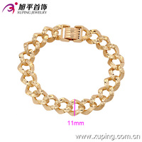 73658-2016Xuping Fashion Woman Bracelet with Gold Plated