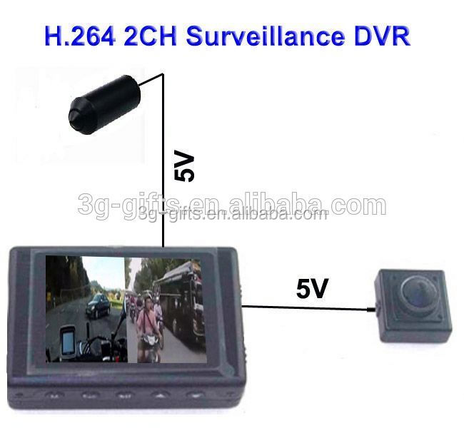 Vehicle Mobile DVR 2ch H.264 mobile