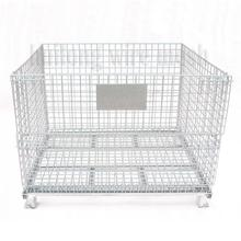 Well designed industrial folding storage cage