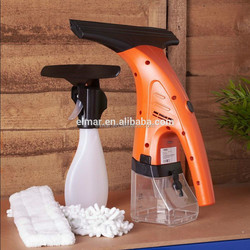 Window vacuum Washing Tool High Window Cleaner With Rubber , spray bottle and microfiber cloth