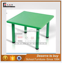 High Quality Plastic Square Table for Kids Play Table