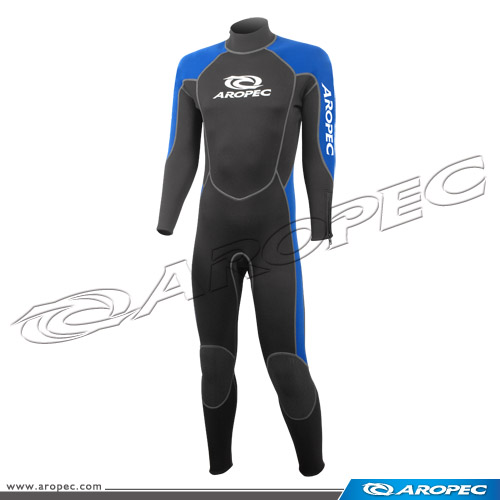 Tropical fish Unisex 3mm Neoprene 5 zipper wetsuit diving fullsuit