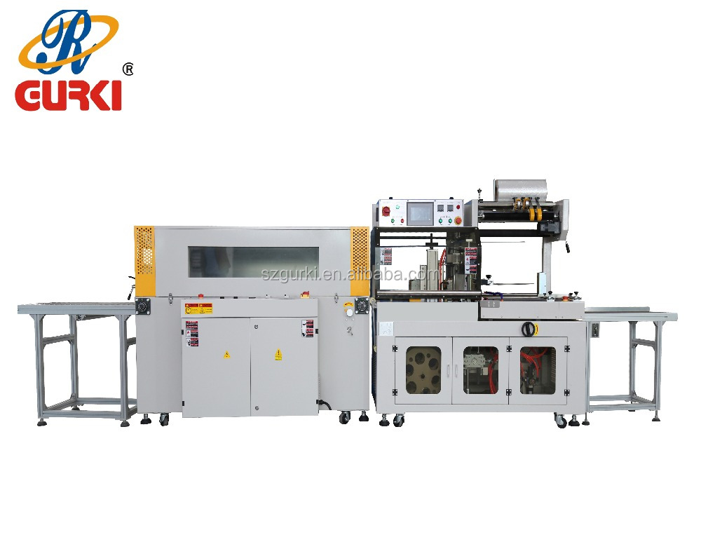 auto type economic shrink wrapping machine for toothpaste box