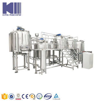 Commercial brewery equipment with capacity 500l 2000l per batch