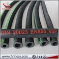 high pressure four layer wire spirals hydraulic rubber hose EN856 4SH 4SP