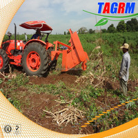 Good service mini reaper binder-mini rice combine har/silage corn combine harvest/cassava root harvester M1600 for sale