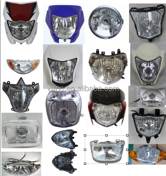 China factory head lamp headlights motorcycle led head light japanese Vehicle