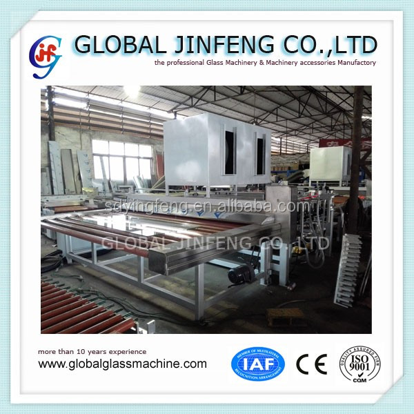 JFW-2500 Cheap price Low-E Glass Washing and drying machine with lifting function