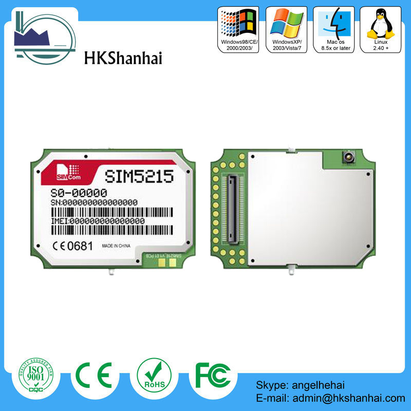 Hot offer GSM/GPRS/EDGE SIMCOM SIM5215 3G 900/2100mhz Module from China supplier