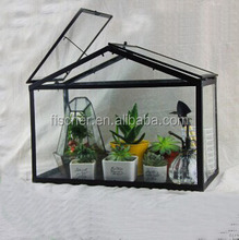 Vintage Style House Shape Shaped Glass Terrarium Bottle Professional Factory Production Of Unleaded.