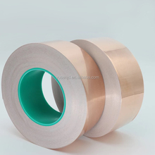 Single Sided Conductive Adhesive tinned Copper Foil tape lowes for lithium battery