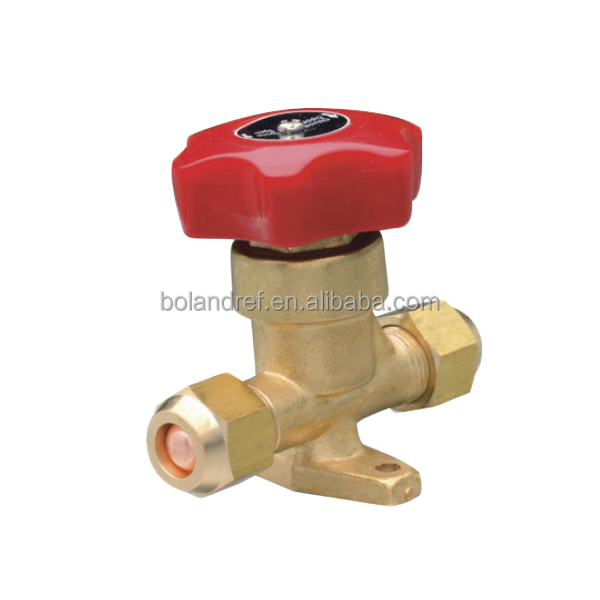 Refrigeration Brass Hand Valve Parts,Refrigerator Spare Part