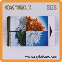 Smart card solutions PVC rfid hotel key card For Access Control with free samples