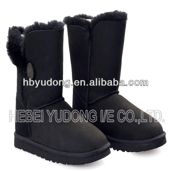 snow boots 2014 fasion Sheepskin boot lady