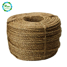 Top Quality Cheap Natural Colored 100% Sisal Braided Thick Hemp Rope
