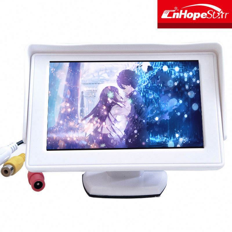Hot best buy 480*234 resolution 4.3 inches tft lcd color monitor for car