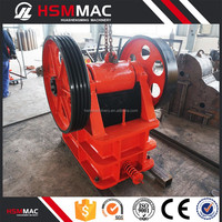 HSM ISO CE China Top Quality Jaw Crusher Price List