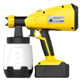 New Tech DC Cordless Battery HVLP Paint Sprayer Power Paint Sprayer