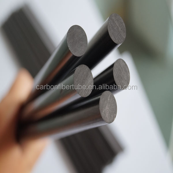 Pultruded Process Epoxy11 mm black carbon fiber rod