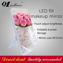 Hot Sale Fashionable Design16 LED Lighted Makeup Mirror With Bracket