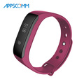 2017 APPSCOMM Smart Watch Waterproof Bluetooth Activity Tracker Bracelet Pedometer Wristwatch for Android and iOS Phones