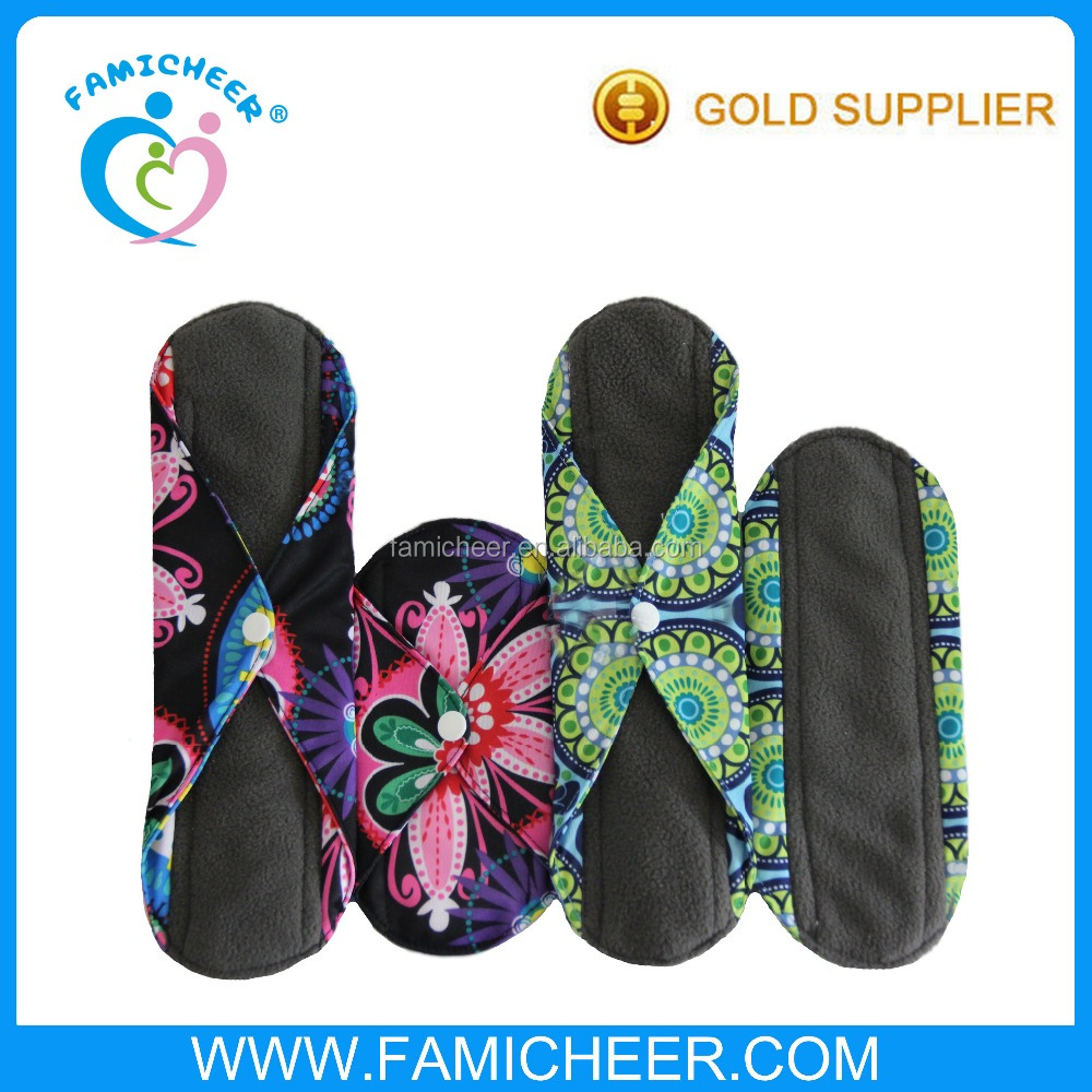 Famicheer Absorbency Leaking Proof Women Cloth Sanitary Towel Supplier