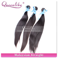 Machine weft double drawn wholesale virgin malaysian wavy hair