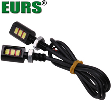 High quality 5630 3SMD 3W 80000K 12V Car LED screw license plate hawk eye lights