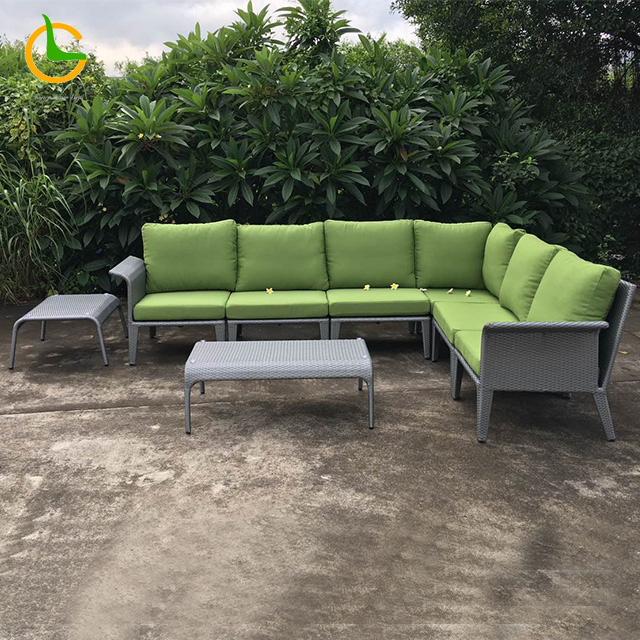 All weather cheap price wholesale patio furniture manufacture garden furniture outdoor rattan sofa