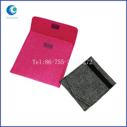 Felt Material Dyed Pouch Wholesale Envelope Type Design Wholesale Custom Packing Bag