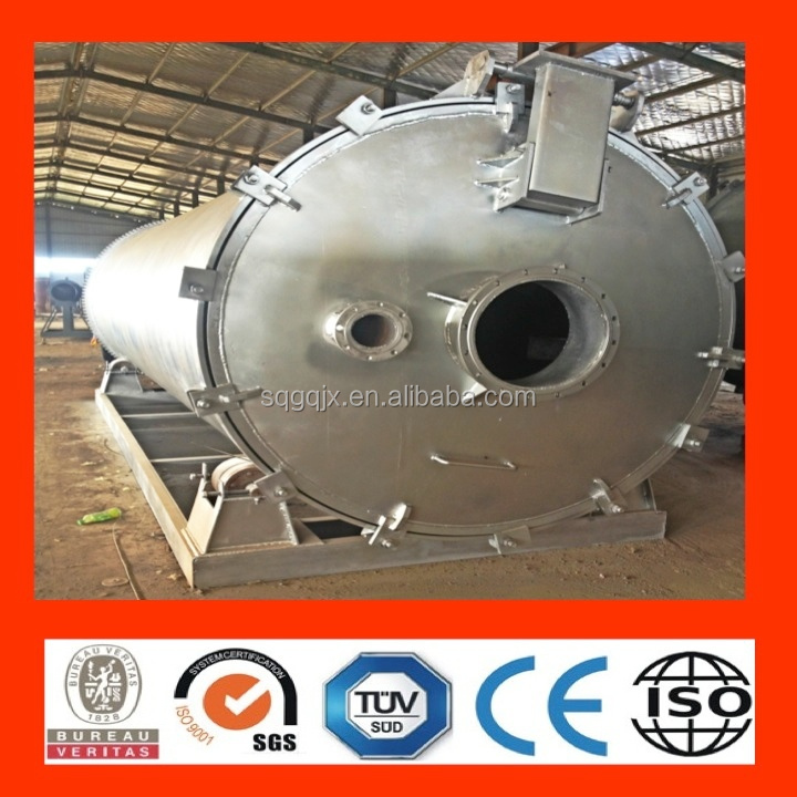 waste tyre pyrolysis recycle to oil plant