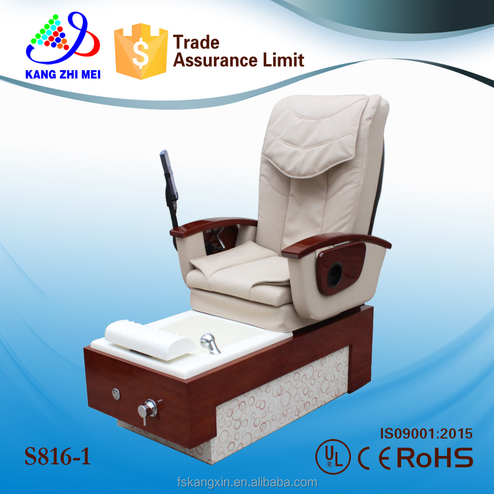 luxury nail spa tools comfortable foot spa pedicure spa chair KZM-S 816-1