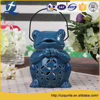 Portable colored office ceramic plant pots stand for flowerpot