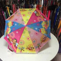 19 inch 8 panels kids umbrella with heat transfer printing for children umbrella